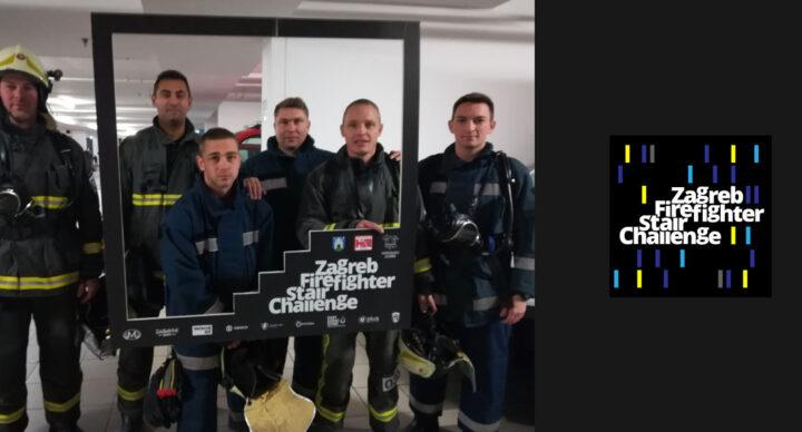 Osvojeno 2. mjesto na Zagreb Firefighter Stair Challenge